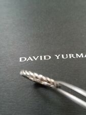 DAVID YURMAN Sterling Silver Cable Classics Band Ring Size 6