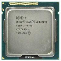 Intel Xeon E3-1270 V2 CPU Quad-Core SR0P6 3.5 GHz 8M 5 GT/s LGA 1155 Processor