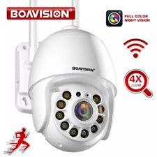 Auto Tracking, 2.4g WiFi Home Surveillance Camera, 2 Way Audio, full color Ptz