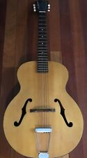 Vintage Harmony Patrician Archtop Acoustic Guitar in Original Case from Estate