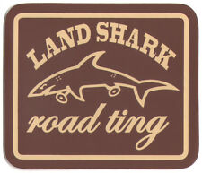 Land Shark vêtements Road Ting Skateboard Autocollant 8.5 cm Large Brown Skate