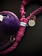 6FT Dog Leash Twisted Rope Handmade Pet Leads Strong Soft for Dogs Walk UK