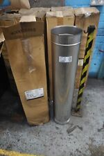 Flue sections 200mm X 1000mm stainless steel