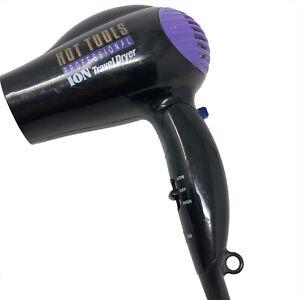 Hot Shot Tools Professional Ion Foldover Travel Blowdryer