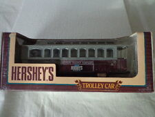 ERTL 1/43 SCALE DIECAST HERSEY'S TROLLEY CAR COIN BANK 1894-1994 100thANNIVERSY