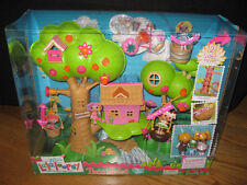 NEW Mini LALALOOPSY la la loopsy 2 side TREEHOUSE playset + 2 minis +LOTS of PCS