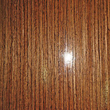"Wenge African composite wood veneer 11""-12"" x 48"" with wood backer 1/25th"" thick"