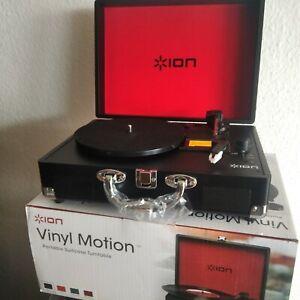Ion Vinyl Motion tragbarer Schallplattenspieler