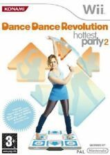 DANCE REVOLUTION HOTTEST PARTY 2 NINTENDO WII GIOCO * COMPLETO * usato #3