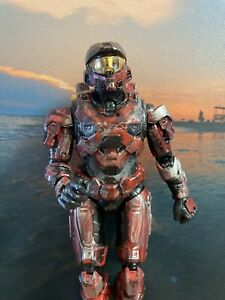 Custom Halo The Spartan Collection Mk VII Action Figure -