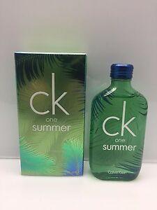 Calvin Klein CK One 2016 Summer 100 ml Eau de Toilette EDT Limited Edition