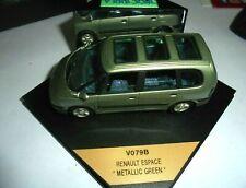 Car 1/43 Vitesse V009b Renault Espace Mk.III 1997 Met Green Box
