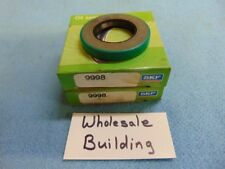 "Cr Chicago Rawhide Skf Oil Seal 9998 ; 1"" x 1.7520"" x .250, Dual Lip With Spring"