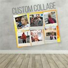 PHOTO COLLAGE, WALL POSTER (CUSTOM DESIGN 27x36) BEDROOM, LIVING ROOM DECORATION