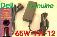 DELL genuine 65W PA-12 OEM adapter charger LA65NS2-01 PA-1650-02DD 928G4+AC CORD