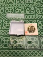 The Textile Museum Pin In Box Appears New Made In USA FREE SHIPPING