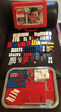 LEGO SET 502 = 1 VINTAGE 1968 DELUXE SET WITH RED CARRY CASE SAMSONITE VERY RARE