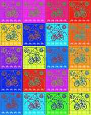 ALBERT HOFMANN POLYKOLOR - blotter art - psychedelic goa acid artwork