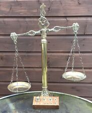 Vintage Brass Justice Scales & Weighs