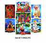 Hindu Postcard 3D Lenticular Collection 7 Vintage Collectible Cards #7-HINDU-PC#