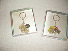 "Vintage keychains/pendants=1970's girls ""Diva""+""Madly in Love""-Charlie's Angels"