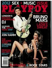April 2012  issue of Playboy  Sex and Music Issue