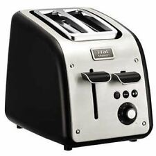T-Fal TT771850 Maison 2-Slice Stainless Steel Toaster, Silver