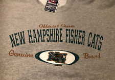 New Hampshire Fisher Cats Vintage Inaugural Season 2004 Large Sweatshirt NWT
