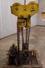 Budgit 6 Ton I Beam Lug Mount Trolley Hand Chain Hoist