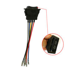 1x Universal Car Power Window Switch 12V 20A With 17cm Cable ON/OFF SPST Useful