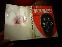 Ethnologie Exploration LES SECRETS DE L'ILE DE PAQUES Louis Castex 1966