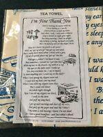 Irish Linen Tea Towel New In Packaging