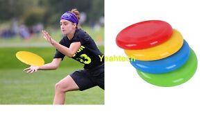 Summer Fun Beach Frisbee Throwing Flying Disc Frisby Fetch Toy New x 1