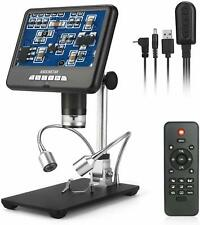7 Inch LCD Microscope for Phone & Watch Repair Soldering PCB Inspection Jewelry