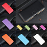 Luxury Genuine Leather Flip Stand Case Wallet Cover For HTC Desire 530