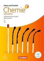 Schulbuch Chemie Interaktiv 1 Cornelsen  NEU ISBN 978-3-06-015595-8 Diff.Ausgabe