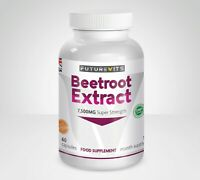 Beetroot Extract Strong 7500mg 60 Bottle Capsules Cardiovascular Futurevits UK