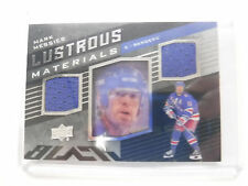 2014-15 UD Black Hockey Lustrous Materials Mark Messier Rangers jh1