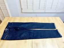 Naked and Famous WeirdGuy Deep Indigo Selvedge Denim Jeans Size 33 100% Cotton