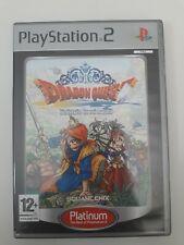Dragon Quest-El periplo del rey maldito-Sony PS2-Caja de lengua francesa