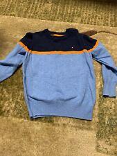 tommy hilfiger sweater Kids- Navy, Light Blue And Orange
