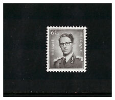 BELGIUM BELGIE BELGIQUE 1953 6f50 BLACK KING BAUDOUIN MINT NEVER HINGED