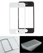 Pantalla Cristal LCD Marco OCA ADHESIVO Negro Blanco Nuevo para iPhone 4