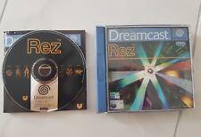Rez Sega Dreamcast REZ Komplett OVP Top Zustand Pal Sammlung Selten
