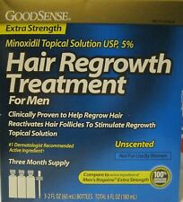 Like Rogaine Minoxidil Topical Solution USP 5% Hair Regrowth Treatment 3 month