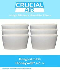 6 Honeywell HC-14 Humidifier Filters Fit HCM3500, HM3600 & HCM-6000