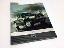 2003 Ford Explorer Sport Brochure