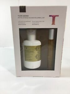 Thymes Tiare Monoi Lotion & Cologne Rollerball Set