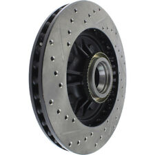 Disc Brake Rotor-Sport Drilled/Slotted Disc Front Left Stoptech 127.65081L