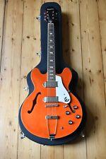 More details for epiphone casino 2019 limited edition model orange sunrise electric guitar